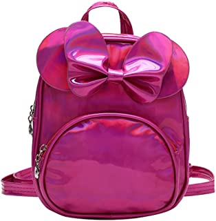 ChenGG Children Kid Girls Fashion Solid School Shoulder Handbag Backpack Tote Bags for Children Baby Girl Boy 1-6 Years