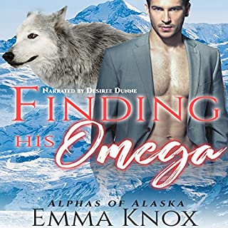 Finding His Omega audiobook cover art