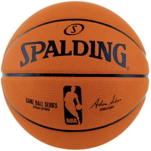 SPALDING(スポルディング)バスケットボール 7号 ラバー GAME BALL REPLICA(ゲームボール レプリカ) NBA公認 83-044Z