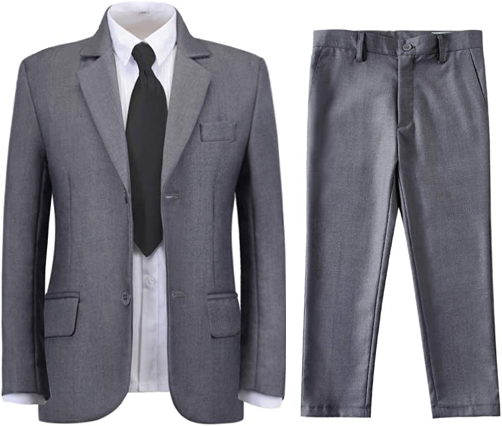 Popular product SaiLiiny Boys Formal Ranking TOP1 Suit Set Complete fo Fit Slim Tuxedo Outfit