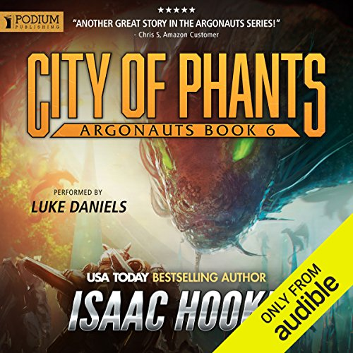 City of Phants audiobook cover art