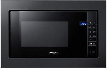 Samsung FG87SUB Integrado 23L 800W Negro - Microondas (Integrado, 23 L, 800 W, Tocar, Negro, Botón)