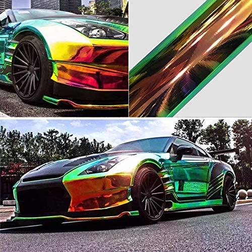 Etiqueta engomada del coche Car Styling Burbuja del arco iris cromo del...