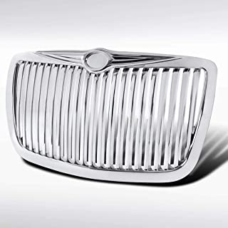 Autozensation For Chrysler 300 300C Bentley Style Chrome Vertical Grille