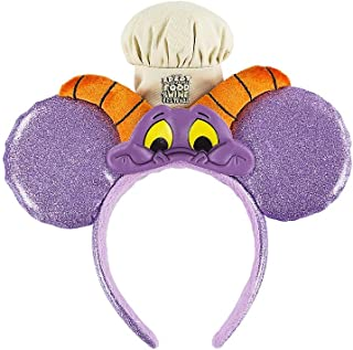 Walt Disney World Epcot Food and Wine Festival 2017 Chef Figment Minnie Mouse Headband