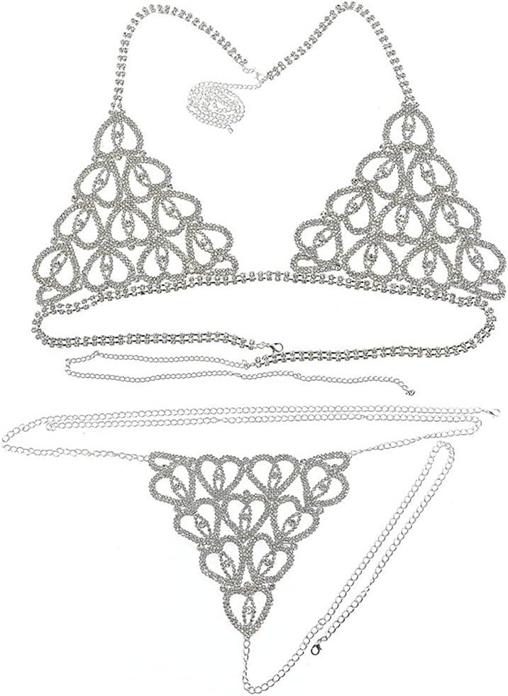 Seasonal Wrap Introduction YFQHDD Bikini Body Chain Harness Women Chai Ranking TOP4 Fashion Lingerie for