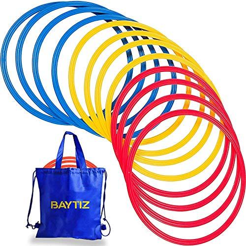 Baytiz   13 Aros de Agilidad + Bolsa de Transporte - Entrenamiento...
