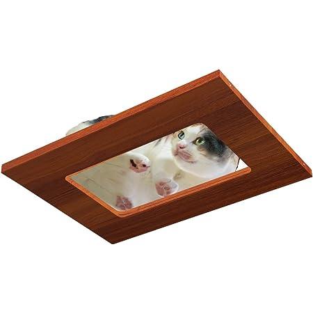 ottostyle.jp キャットツリー用 窓付き板 【ブラウン】 猫ちゃんの肉球を下から見れるオプションパーツ