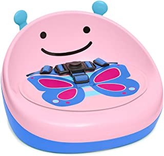 Skip Hop Zoo Booster Seat, Pink Butterfly