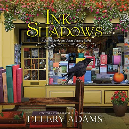 Ink and Shadows Audiobook By Ellery Adams cover art