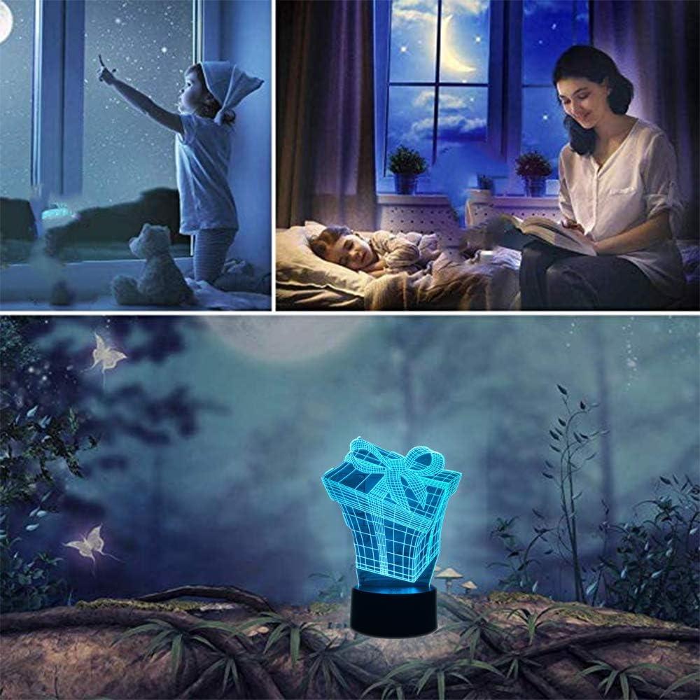 Wangzj rottweiler 3d hund lampe tier lichter schreibtisch usb led nachtlichter kinder geschenk touch sensor nachtlampe f/ür nacht geburtstagsgeschenk//lava effekt 16 farbe