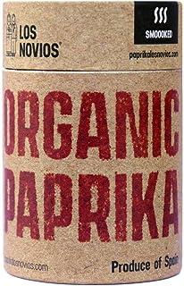 Pimentón Ecológico Ahumado 60 g - Paprika BIO Los Novios Organic Gourmet: cultivado y envasado en España (ES-ECO-024) (Ahumado)