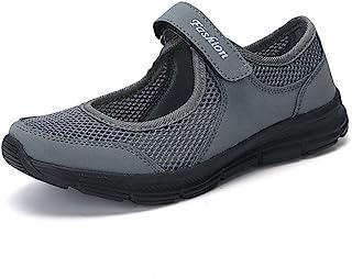FOTBIMK Mode Chaussures Bateau Femme Ete Anti Slip Fitness Course à Pied Chaussures De Sport