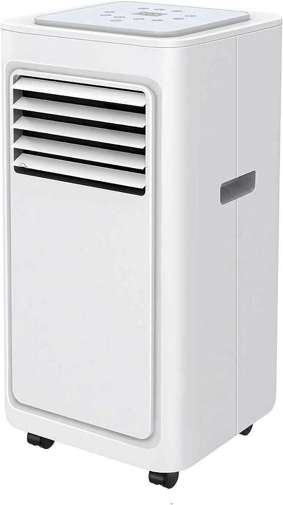 Fam famgizmo, condizionatore portatile, raffreddamento, deumidificatore, ventilatore, con telecomando AZPTITHE032346LC