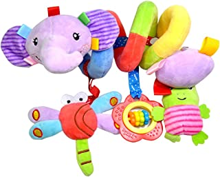 Juguetes para cochecitos TOYMYTOY Bebé actividad Espiral Blandos Elefante Peluche Juguetes