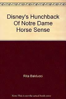 Disney's Hunchback Of Notre Dame Horse Sense