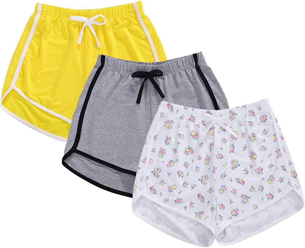 Girls 3-Pack Workout Fashion Shorts Dolphin Sale Special Price Athletic sold out