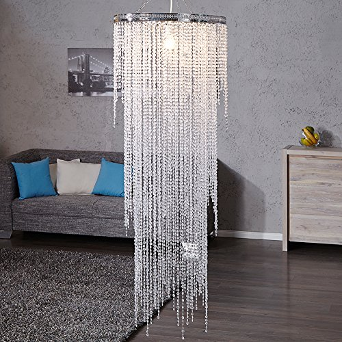 Invicta Interior Presious strass glamoureuze designer hanglamp XXL 55 cm