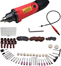 Wxnnx 6-Speed Multi-Functional Rotary Tool for Wood Metal Glass Carving, Engraving and Cutting