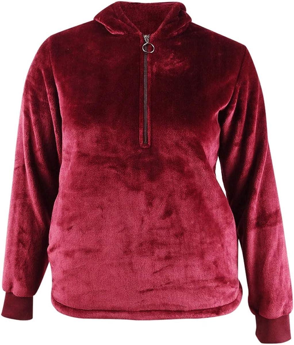 Ideology Womens Plus Fleece Cold Weather Velour Jacket
