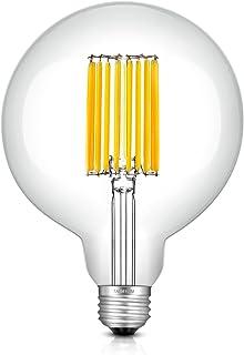 TAMAYKIM LED電球 フィラメント ボール電球 14W E26口金 電球色(3000K) 白熱電球140W形相当 G125 レトロエジソンバルブ 全方向タイプ 調光器非対応 1個入