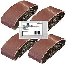Decker KA86 720W Belt Sander 120 Grit 20 Bond Abrasives Sanding Belts For Black Fine