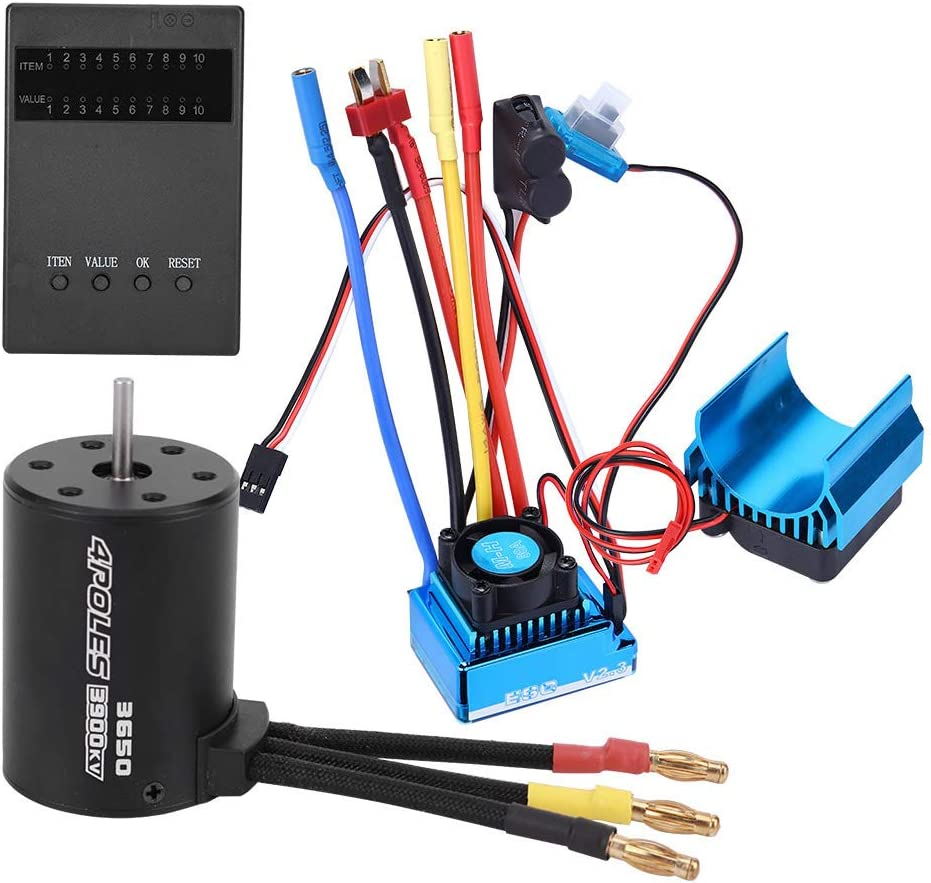 VGEBY RC Motor Brushless ESC Set Control Vehi Year-end gift Scale 1:10 Remote Fashion