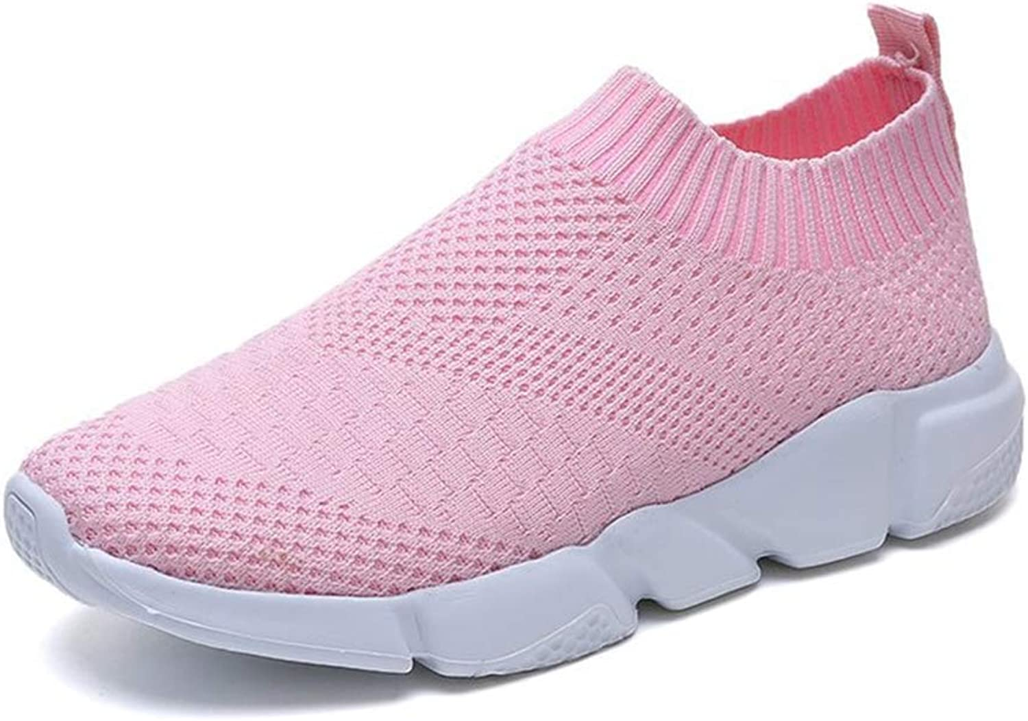 Women's Athletic Lightweight Casual Mesh Walking shoes Mesh Sneakers Slip On Trainers Running shoes Comfortable Platform Loafers