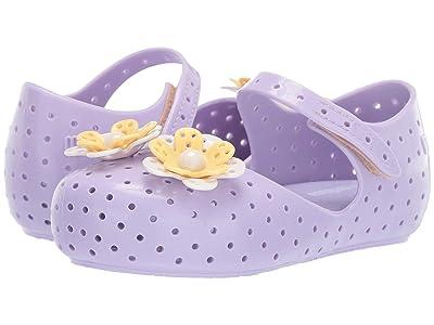 Mini Melissa Mini Furadinha XII (Toddler/Little Kid) (Lilac) Girls Shoes