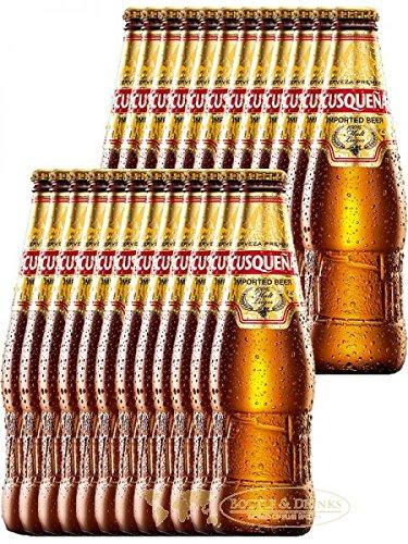 CUSQUENA Cerveza Malta Peruanisches Bier 24 x 0,33 Liter