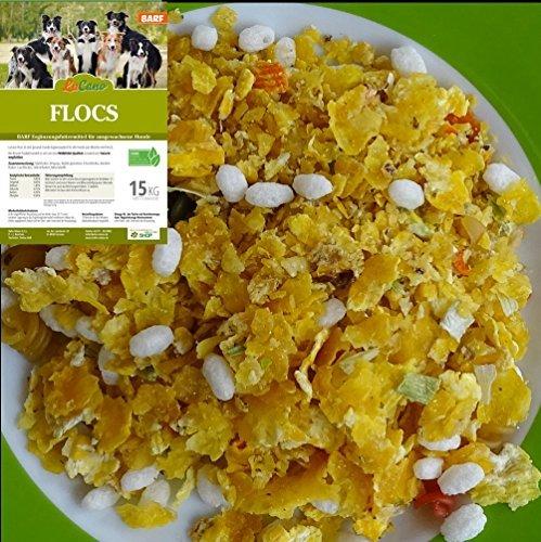 LuCano 15 kg Flocs | das Barf Ergänzungsfutter | Flocken Mixer | Cereal Flakes