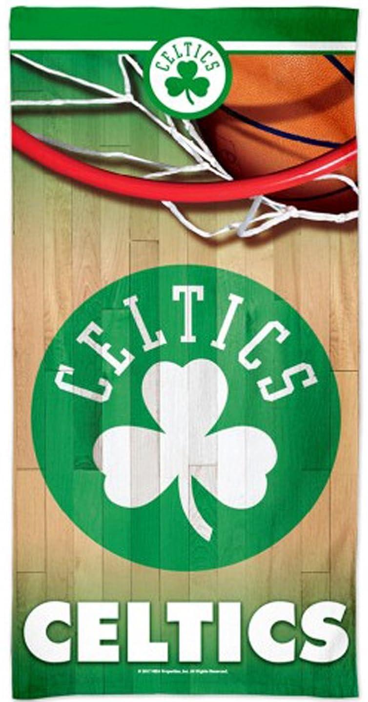 ビジネス変換するホストWinCraft Boston Celtics Beach Towel with Premium Spectra Graphics 80cm x 150cm
