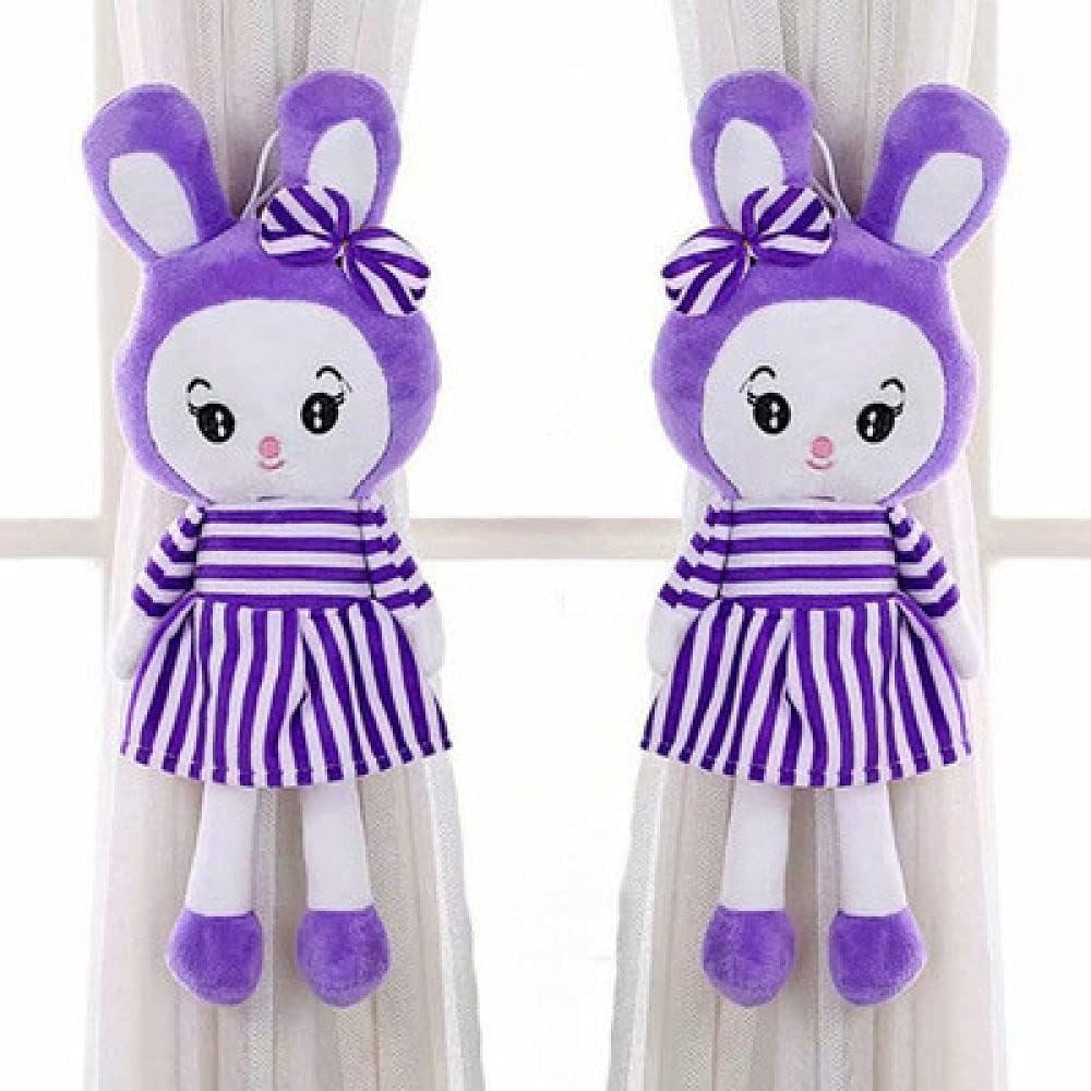 2Pcs Set Lovely Fashion Max 42% OFF favorite Cartoon Clip Totoro Rabbit Curtain Strap