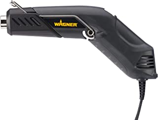 Wagner Spraytech 0503038 HT400 Embossing Heat Gun, 350 Watt, Dual Temp Adjustable Heat Tool (680°F/450°F), 3 Usage Positions with Built-In Stand, Great for Shrink Wrapping and Countless DIY Projects