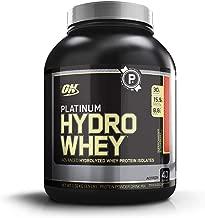 OPTIMUM NUTRITION Platinum Hydrowhey Protein Powder, 100% Hydrolyzed Whey Protein Isolate Powder, Flavor: Supercharged Strawberry, 3.5 Pounds
