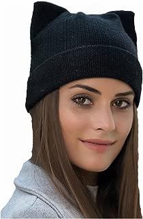 Women's Hat Cat Ear Crochet Braided Knit Caps