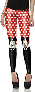 minnie mouse running leggings