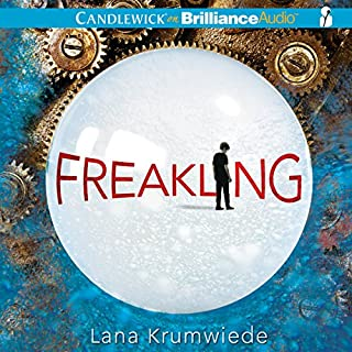 Freakling audiobook cover art