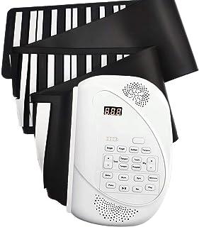 ニコマク NikoMaku ロール ピアノ 88鍵 2020版 巻ける 電子ピアノ 日本語説明書 2つスピーカー 音が進化 ペダル付き 巻いてコンパクトに収納 電子キーボード 出荷前音チェック