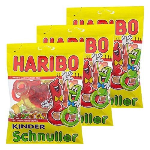 Haribo Kinder Schnuller, Ciucci, Orsetti, Caramelle Gommose, 3 Sacchetti
