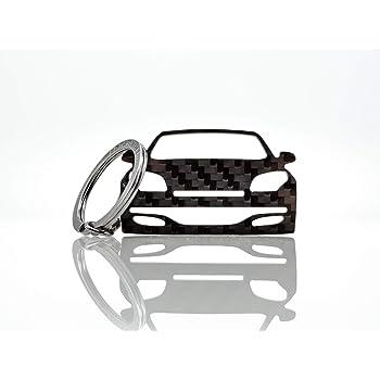 BlackStuff Porte-Cl/és en Fibre De Carbone Compatible avec Clio III Sport RS 2005-2012 Voiture