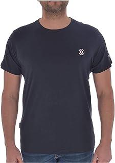 Lambretta Mens Core Target Cotton Short Sleeve T-Shirt Top - Navy - L