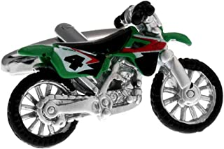 Motorcycle Bike Dirt Off Road Pair Cufflinks in a Presentation Gift Box & Polishing Cloth
