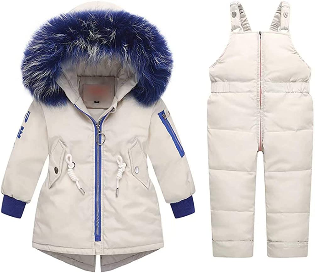 Children's Winter Hooded Snowsuit discount Baby Don't miss the campaign Ki Sets Girls Boys
