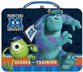 OKSLO Monsters inc university metal tin lunch box scarer