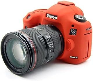 jinserta suave silicona funda para cámara funda para Canon EOS 5d mark iii 5DS 5dr goma cámara Funda impermeable para SLR DSLR Cámara
