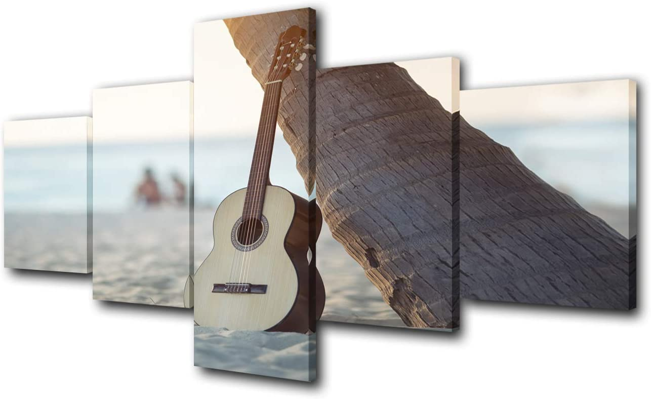 Multi Panels Wall Dallas Mall Art Classic Music discount Guitar Pictures Instrument P