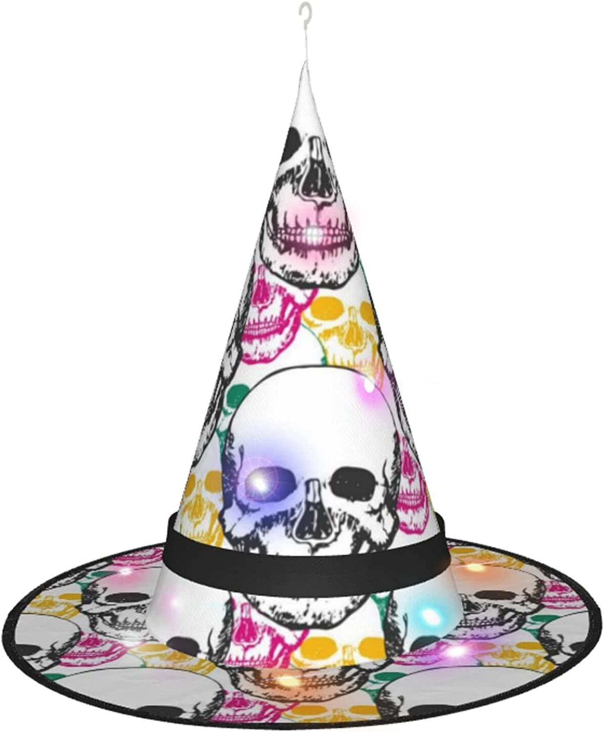 KQLH Halloween Witch Hat With Costume For Accessory Award-winning store Hallo Light Low price