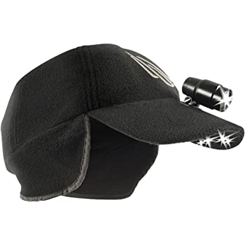 Plaid Red /& Black Panther Vision POWERCAP LED Beanie Cap 35//55 Ultra-Bright Hands Free LED Lighted Battery Powered Headlamp Hat Compression Fleece WBH-8278-Q