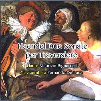 Handel: Due sonate per traversiere